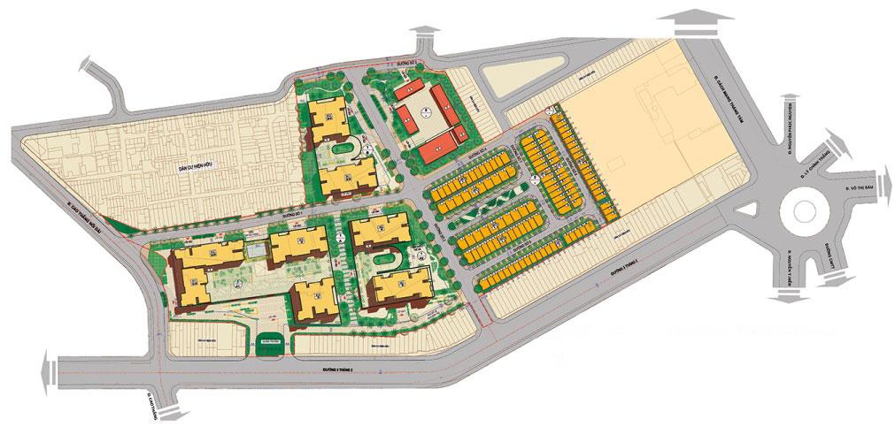 Quy hoạch tổng thể khu Hà Đô Centrosa Garden